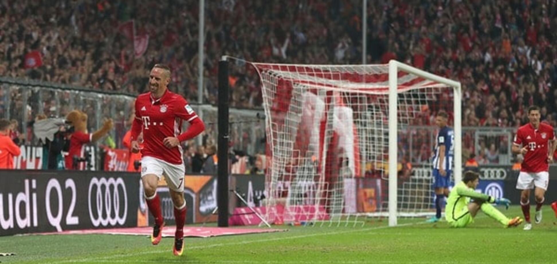 'На зло арбітру': Рібері забив фантастичний гол у чемпіонаті Німеччини