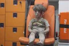 'Он будет нашим братом': маленького американца впечатлили кадры из Алеппо