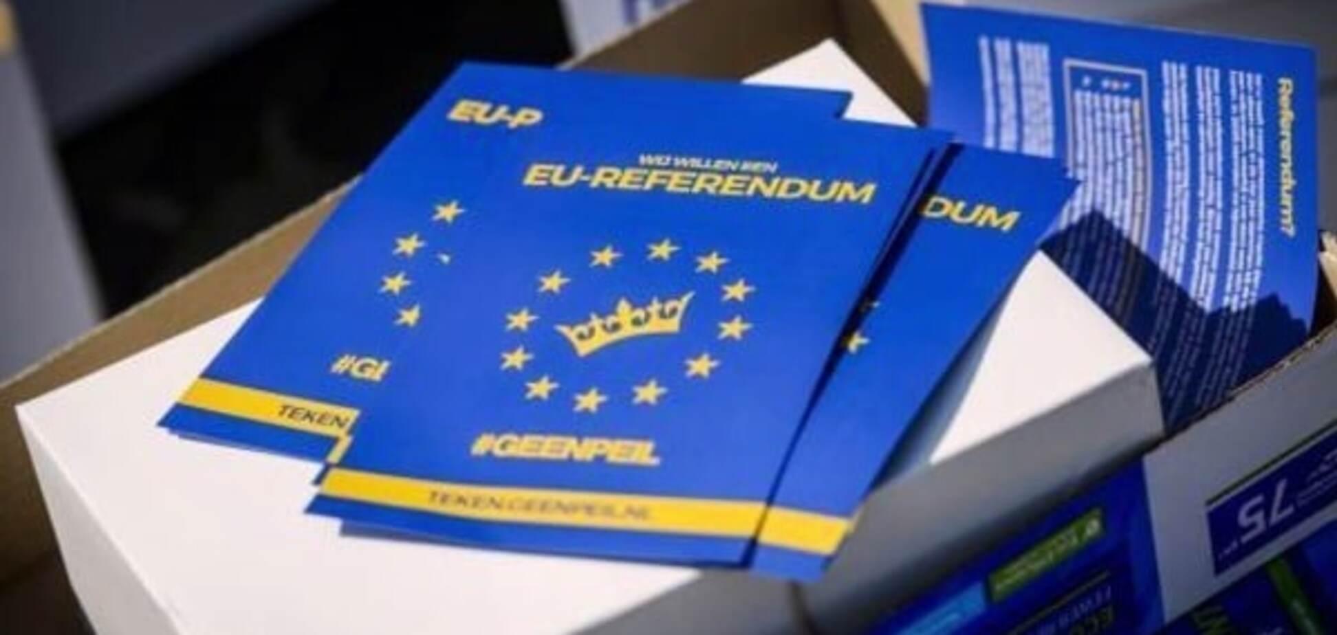 Відмова Нідерландів:Бузаров пояснив, що очікує на Угоду про асоціацію з ЄС