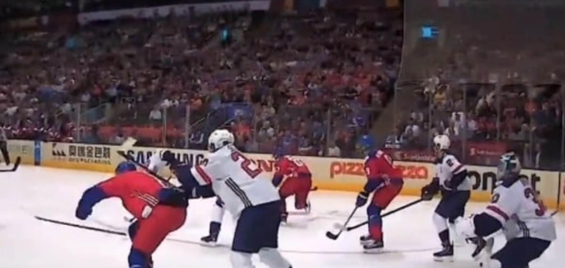Збірна США зганьбилася на Кубку світу з хокею
