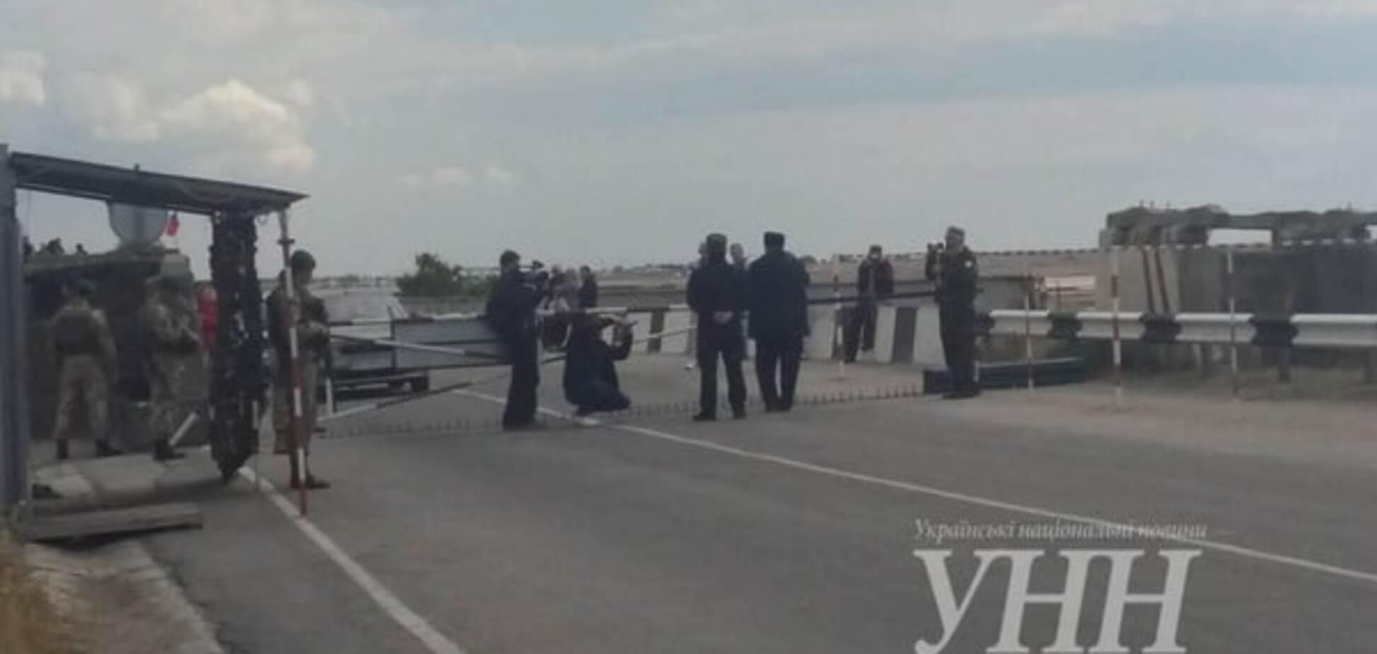 Деоккупація - справа часу: Чубаров виступив на мітингу біля адмінкордону з Кримом