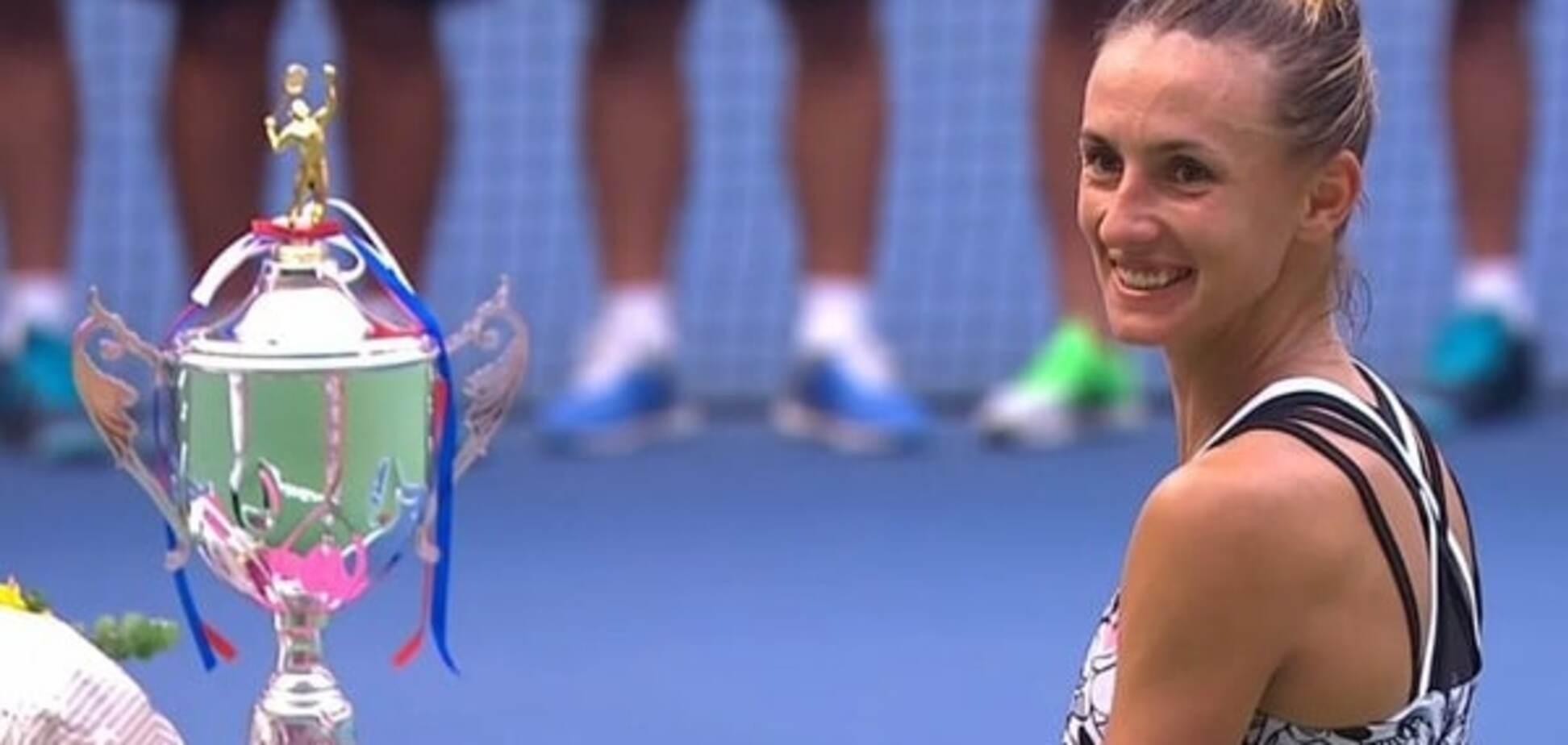 Тріумф дня: українську тенісистку нагородили за перемогу у престижному турнірі
