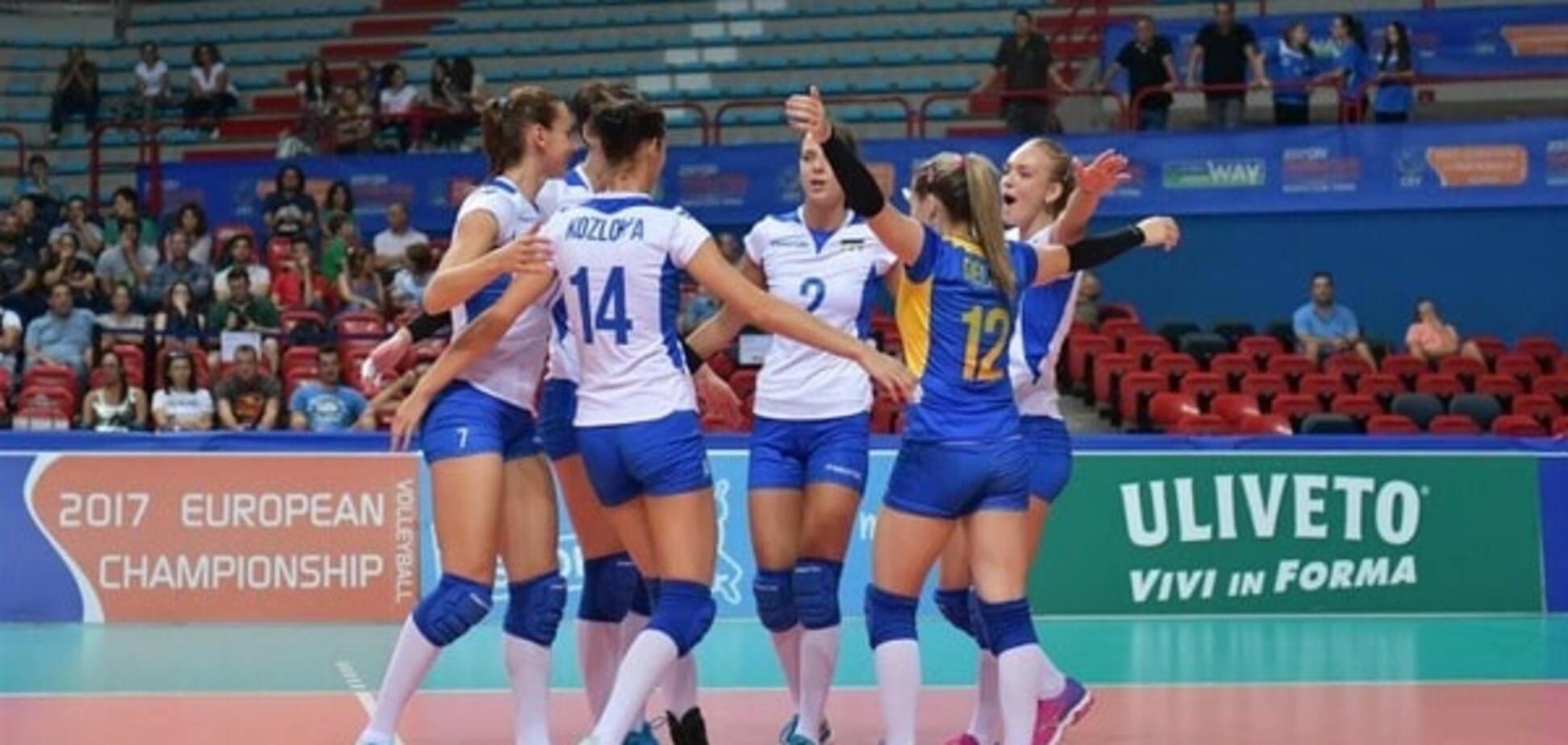 Україна здобула яскраву перемогу в кваліфікації чемпіонату Європи з волейболу