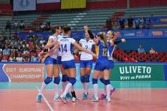 Украина добыла яркую победу в квалификации чемпионата Европы по волейболу