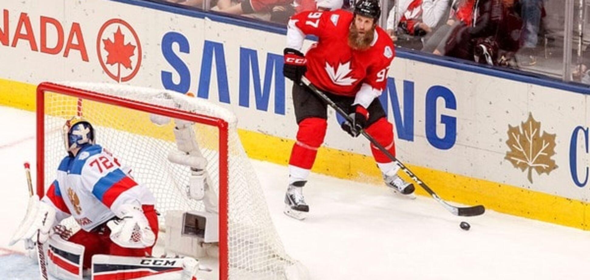 Канадці принизили збірну Росії у півфіналі Кубка світу з хокею