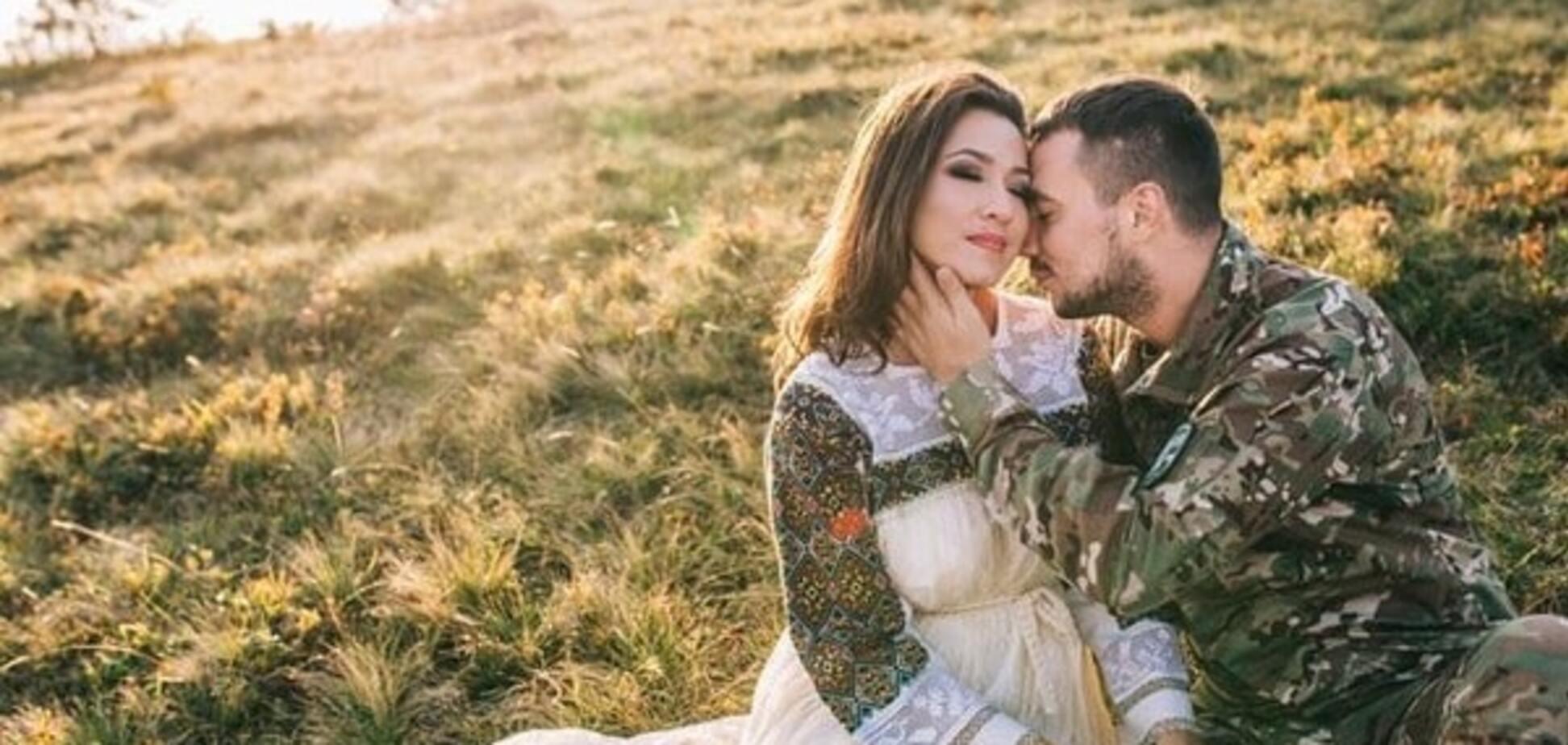 Наталка Карпа поділилася весільними фото і відео із героєм АТО