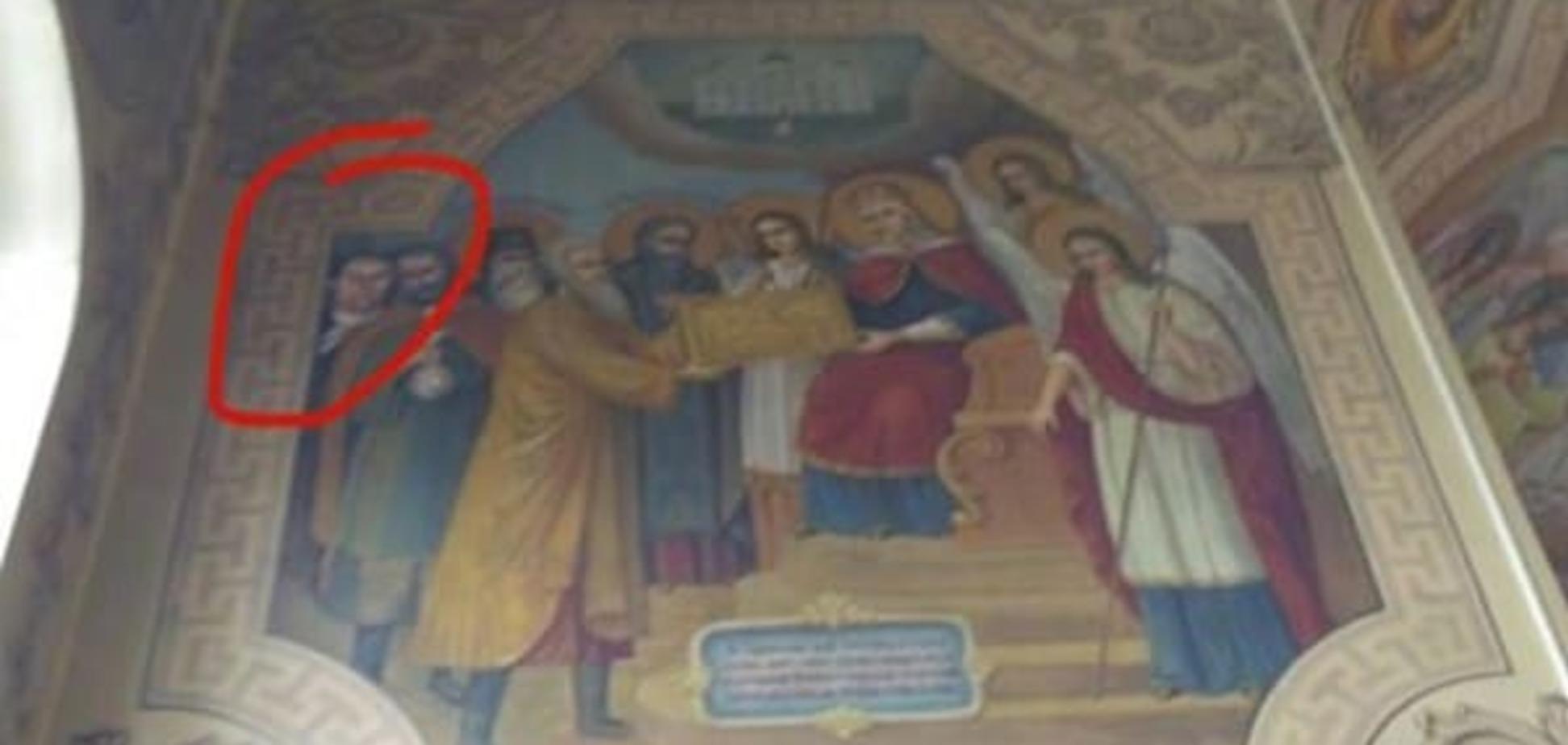 Человеческие извращения: экс-глава николаевского порта поместил себя на икону