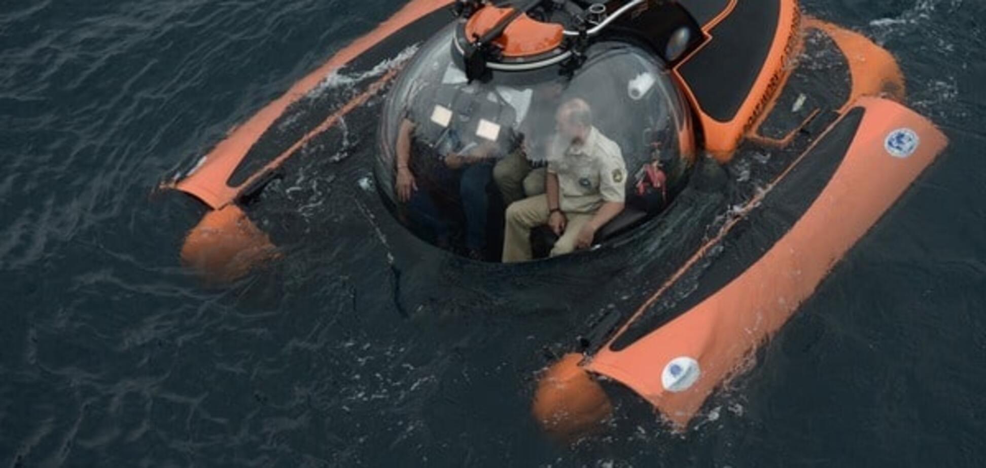Путін підводний човен