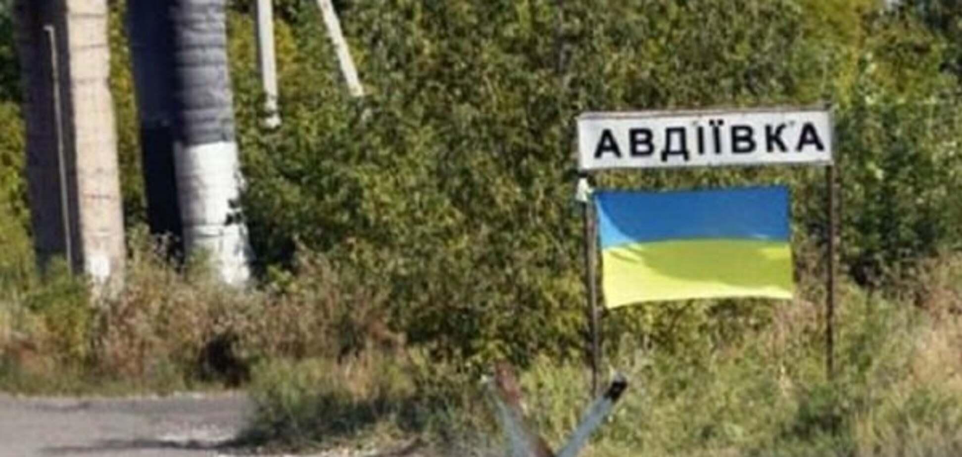 Військовополонені риють окопи під Авдіївкою