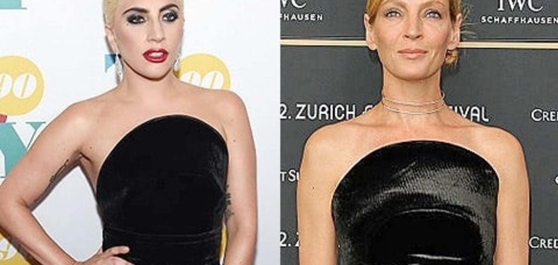 Леди Гага и Умы Турман