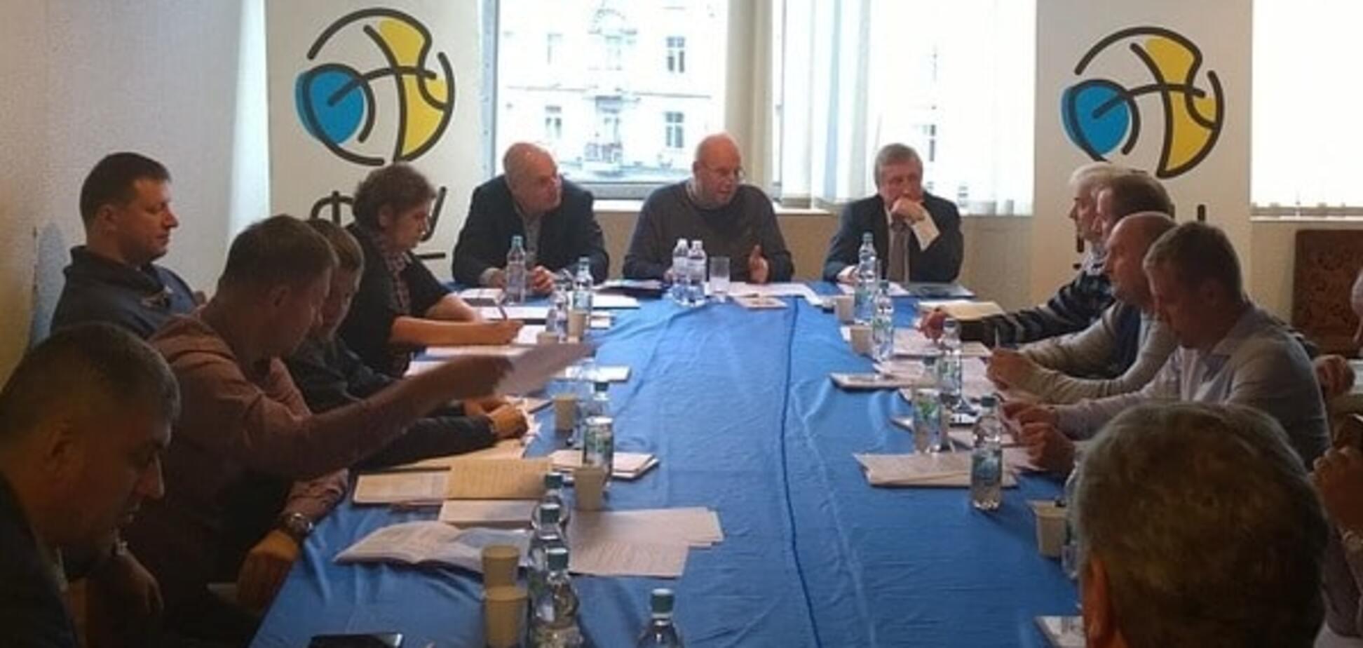 Федерация баскетбола Украины