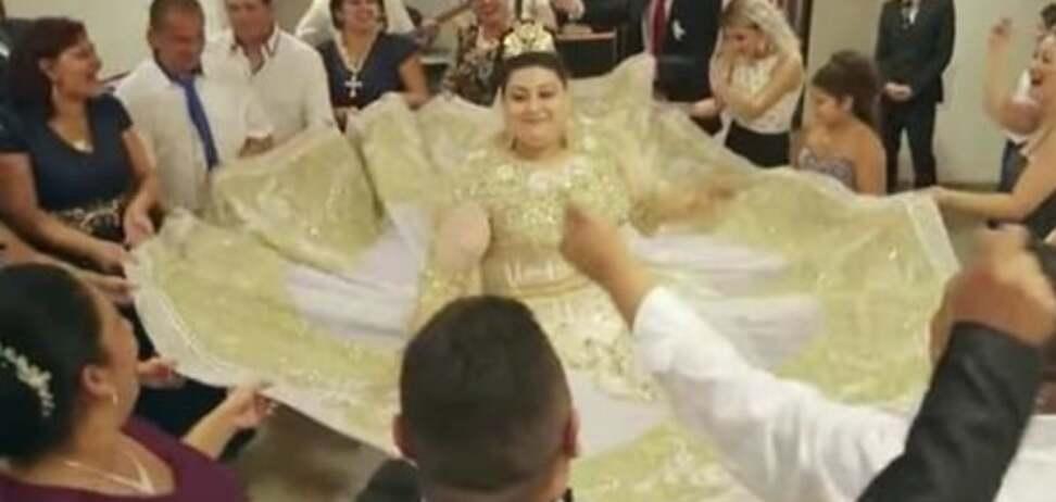 Роскошная свадьба ромов