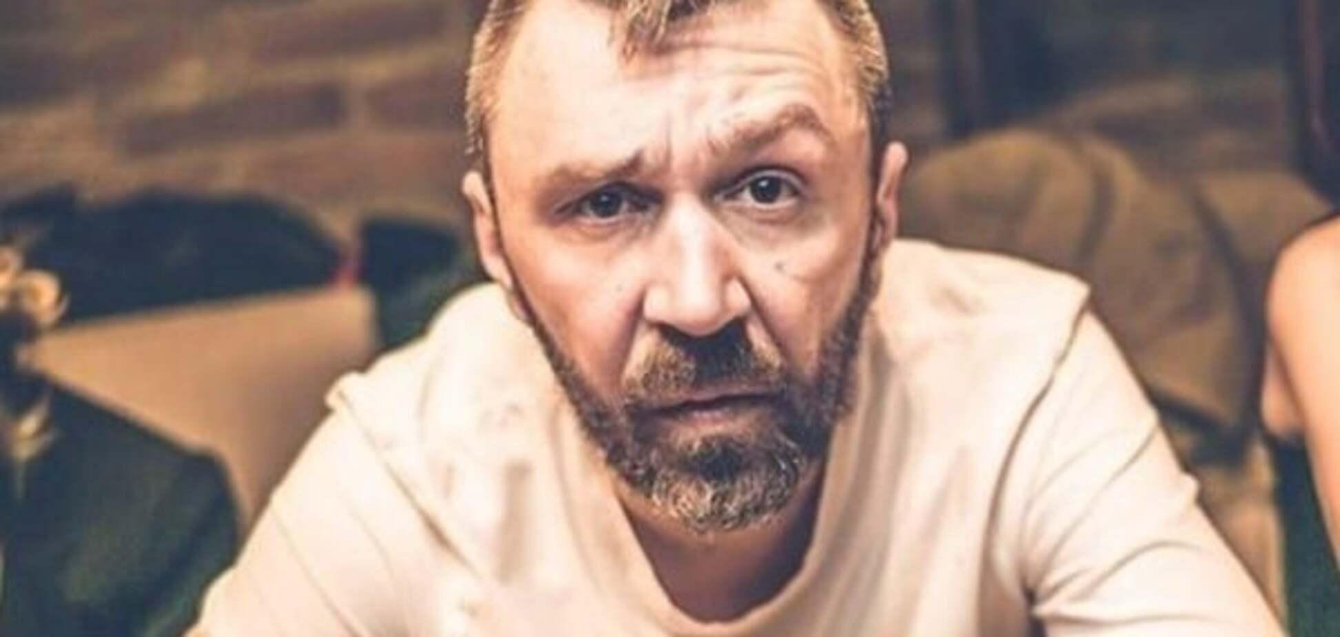 Лідер гурту \'Ленінград\' Сергій Шнуров