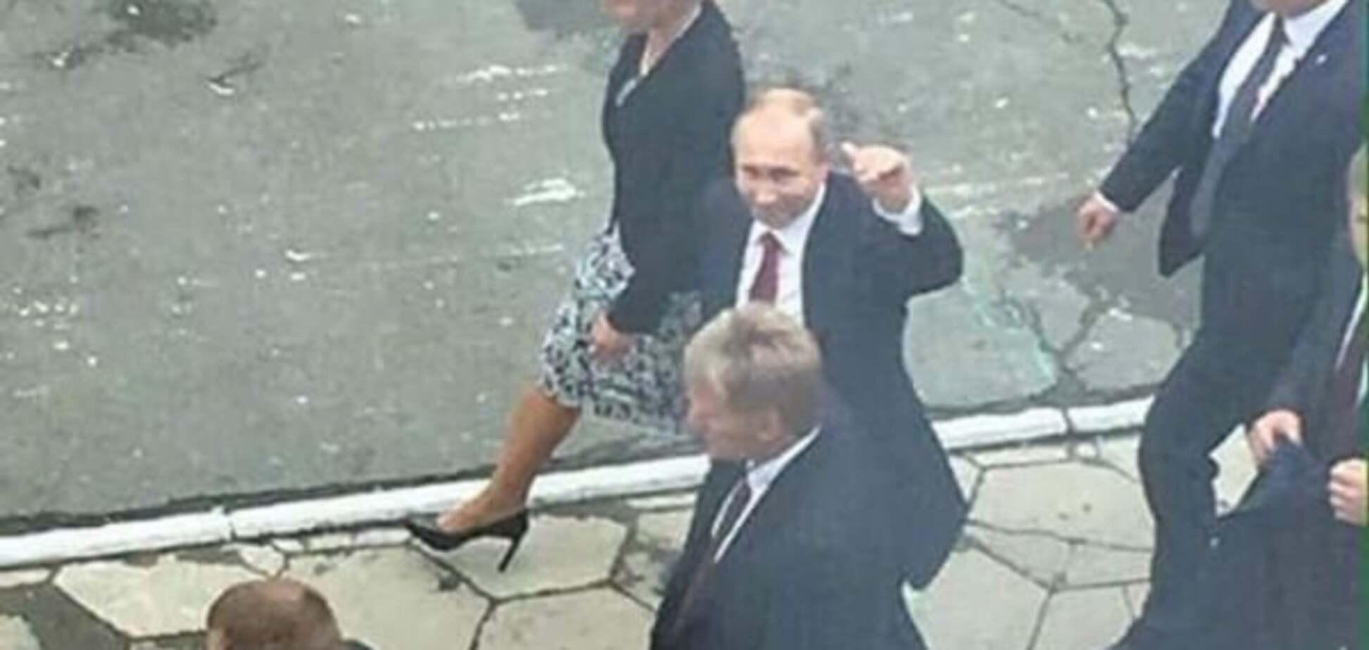 Президент России Владимир Путин во Владивостоке