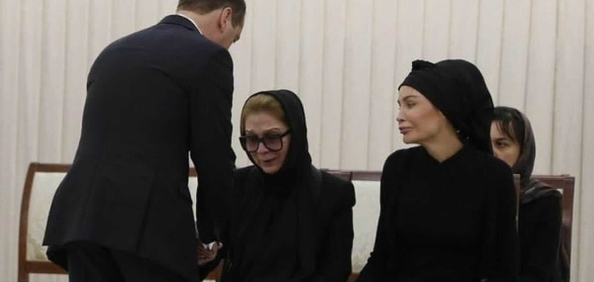Жена Ислама Каримова Татьяна и младшая дочь Лола