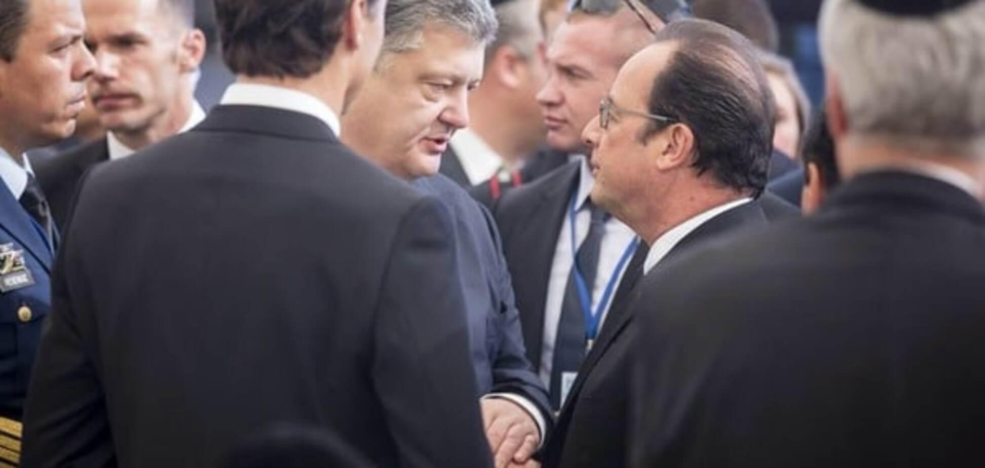 'Большой друг Украины': Порошенко почтил память Шимона Переса