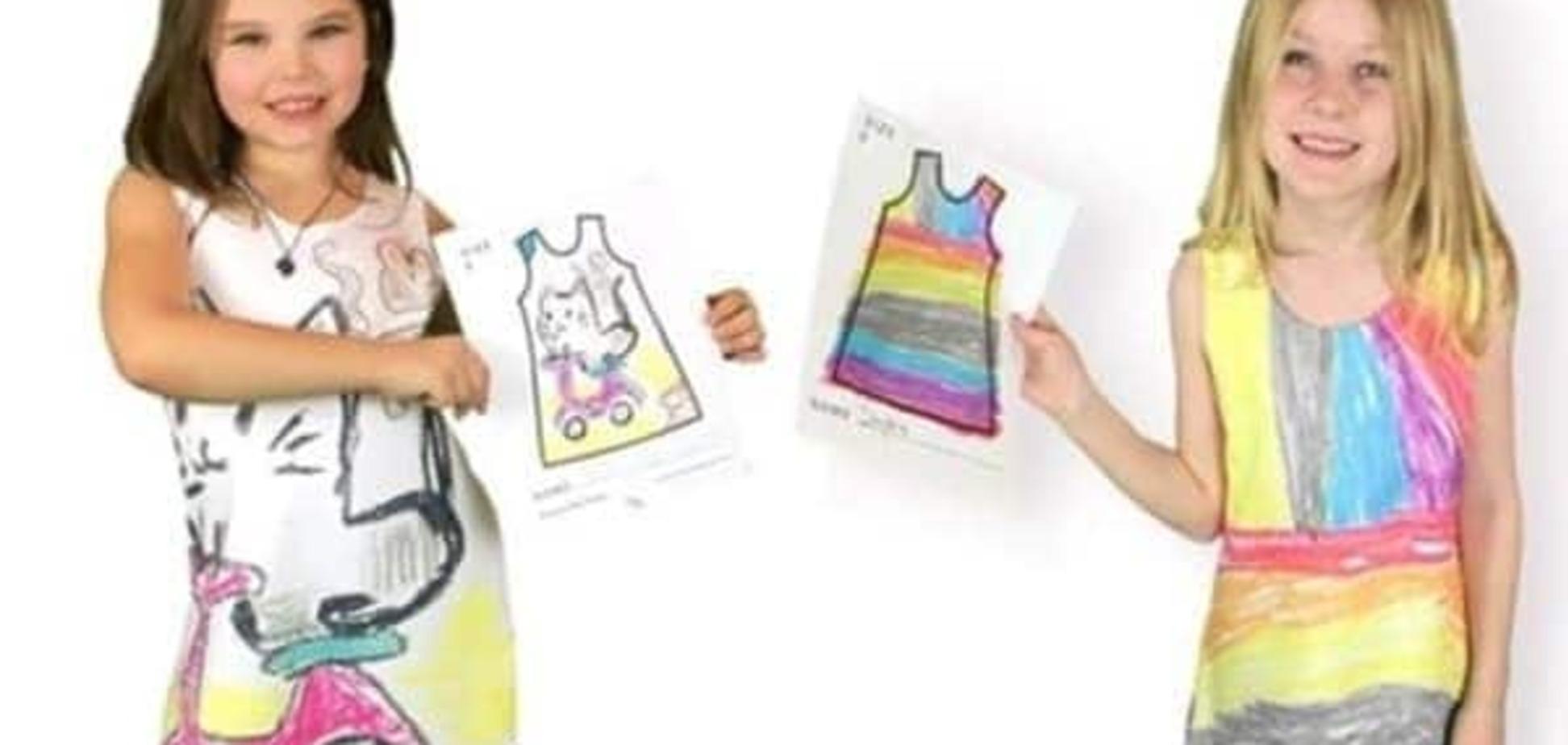 Фантазии дорогу! Мама шьет платья по рисункам детей