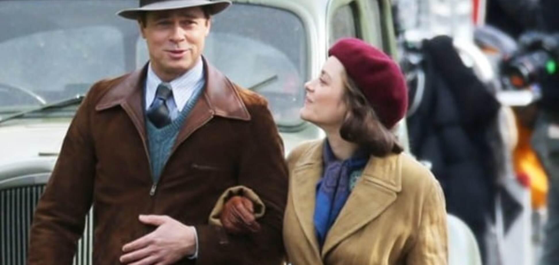 Брэд Питт снялся в 'Мистер и миссис Смит' про нацистов и с новой партнершей