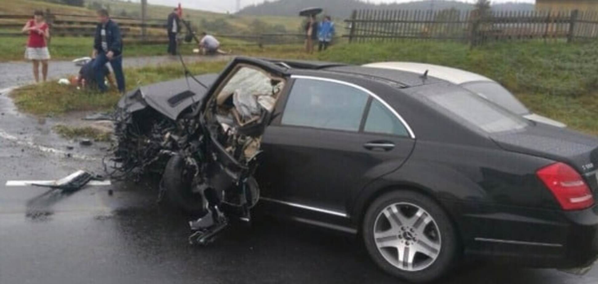 На Львівщині розбився автомобіль нардепа Ланьо
