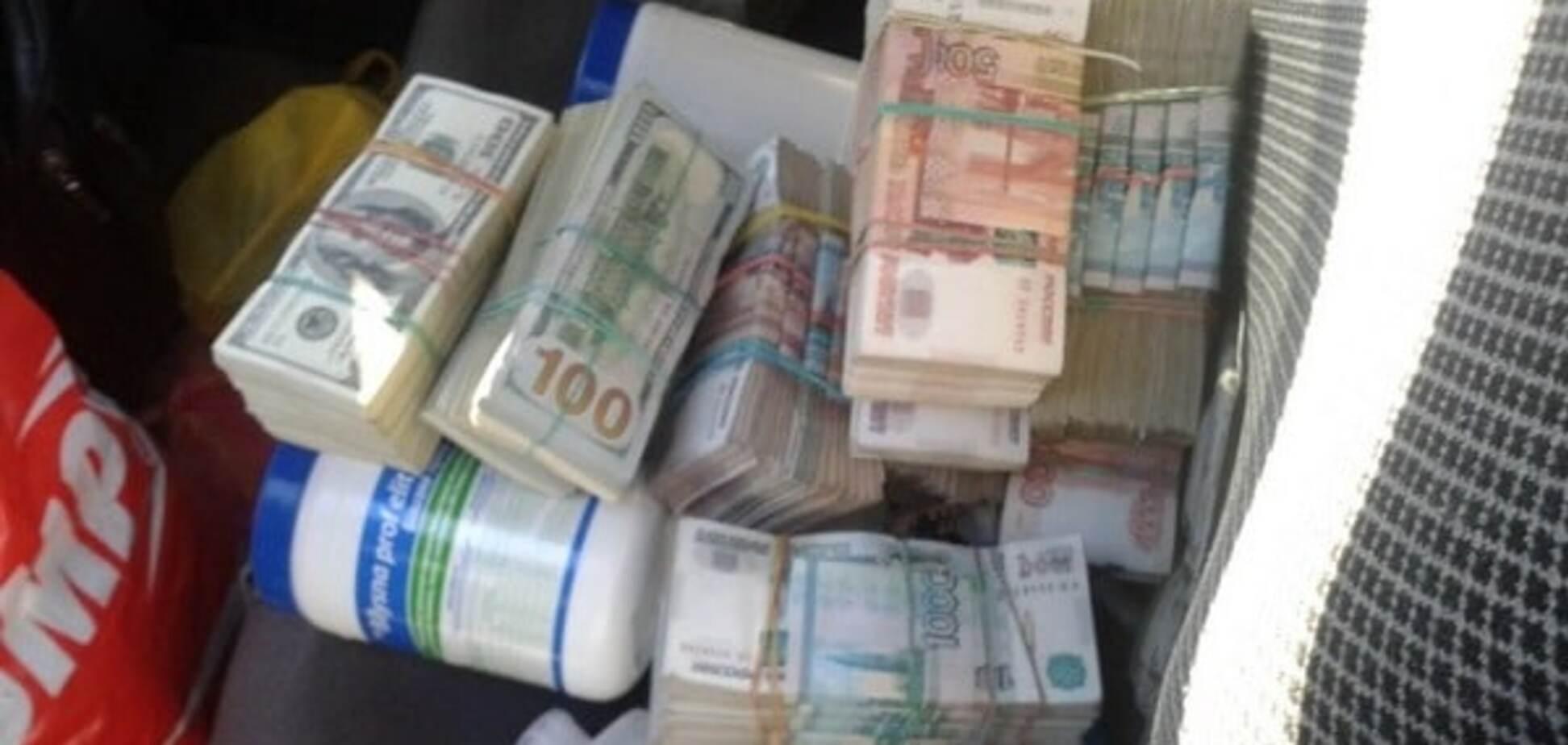 Вилучили 7 млн грн: СБУ перекрила канал фінансування тероризму в зоні АТО