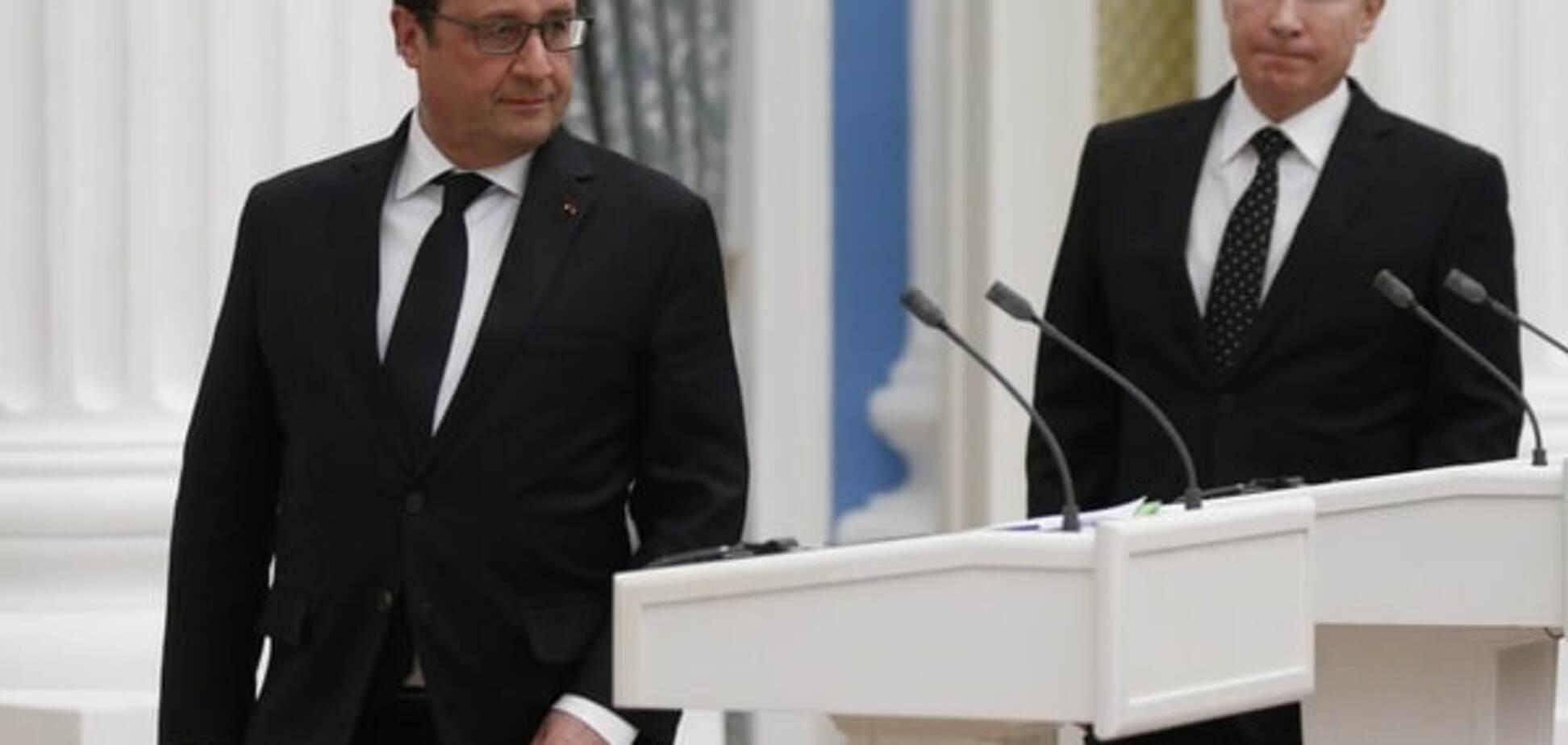 'Перш за все': Путін та Олланд віч-на-віч обговорили Україну в Китаї