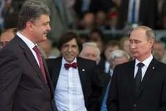 'Придется общаться': Путин по-хамски отозвался о переговорах с Порошенко