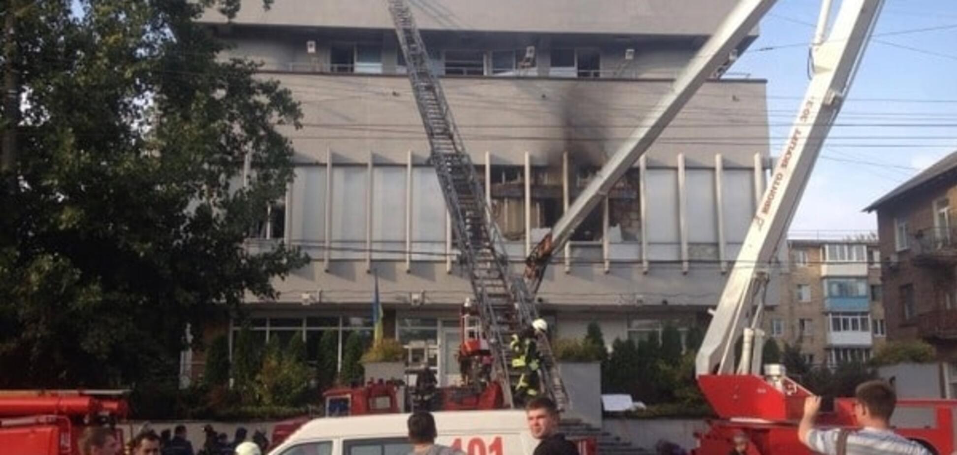 Працювали дві групи: очевидець пожежі на 'Інтері' поділився подробицями