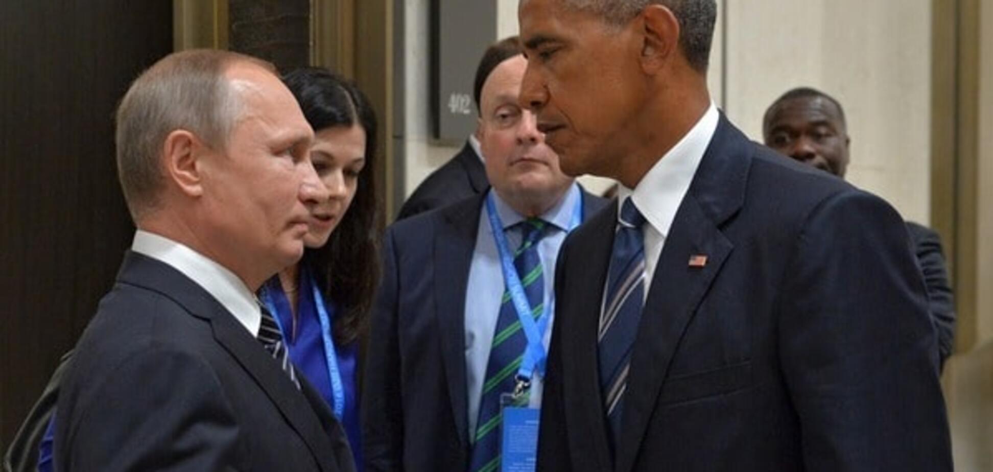 Зустріч у Китаї: Обама пояснив Путіну, що спершу 'Мінськ', а потім зняття санкцій