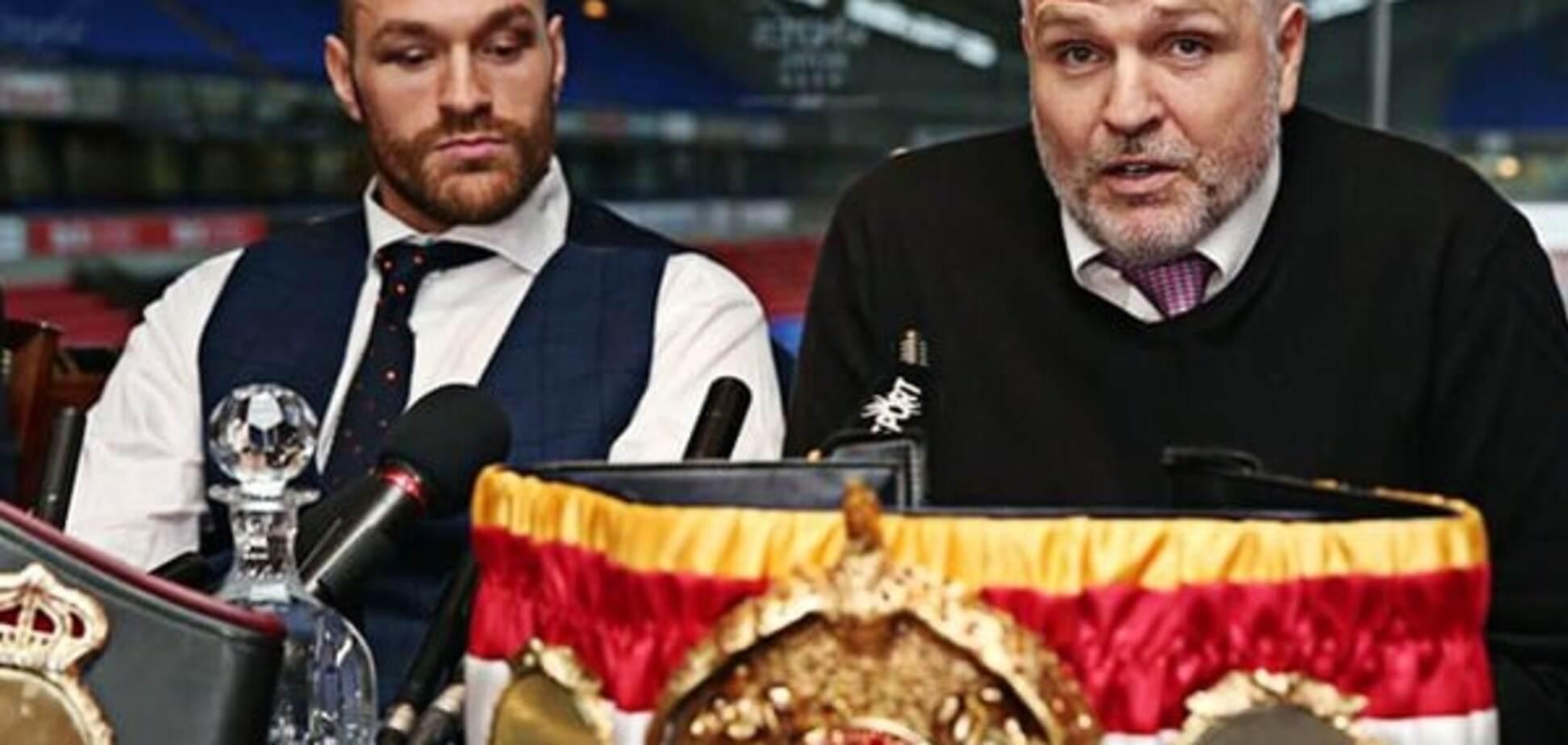 'Багато політичного лайна': тренер Ф'юрі зробив заяву про реванш із Кличком