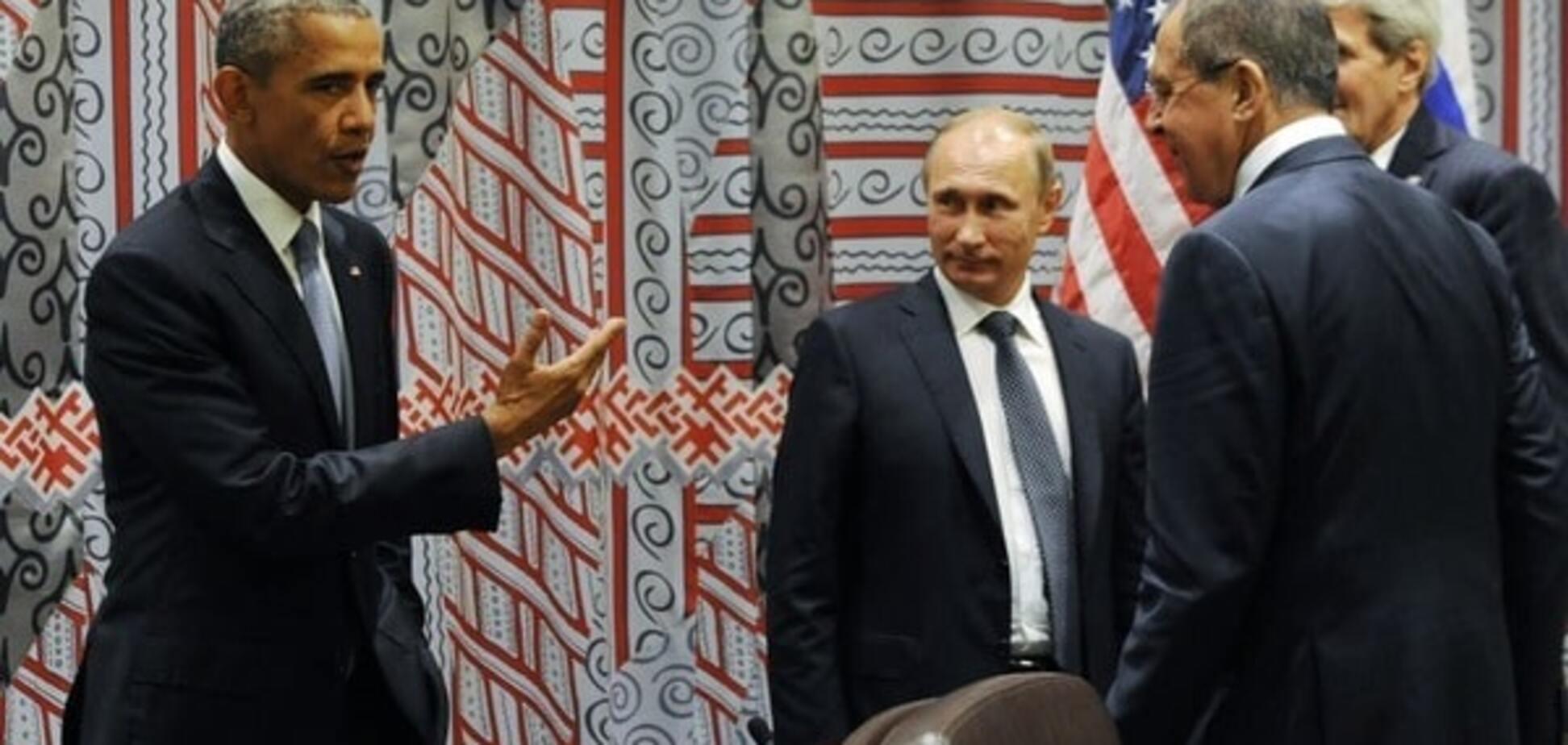 'На ногах' переговорили: Кремль анонсировал 'субстантивную' встречу Путина и Обамы