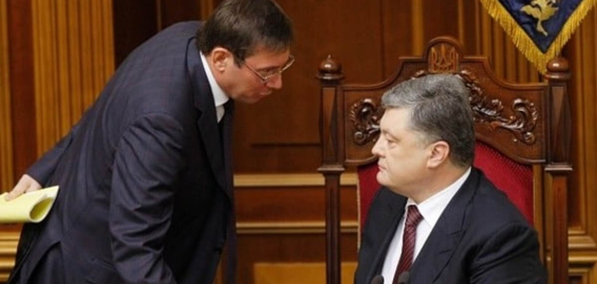 Порошенко доручив Луценку взяти під особистий контроль розслідування підпалу 'Інтера'