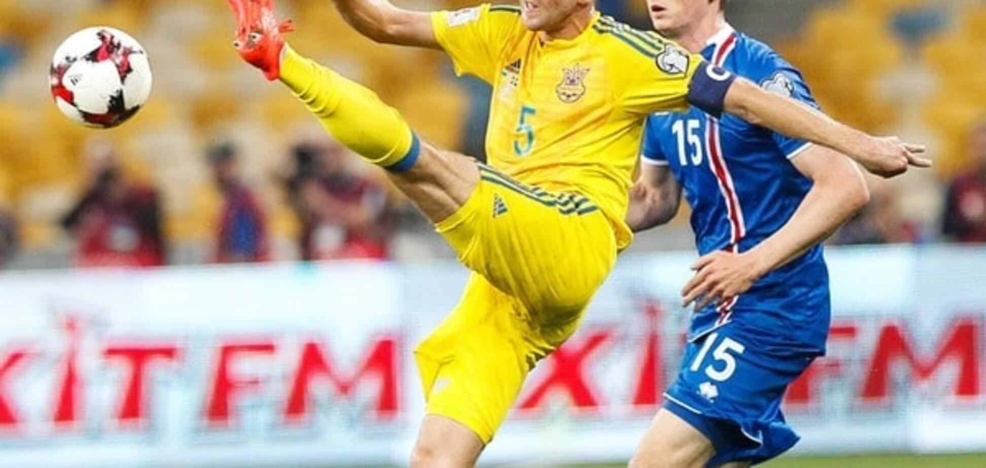 Капітан збірної України про матч із Ісландією: якщо кожен буде грати за себе - команди не буде