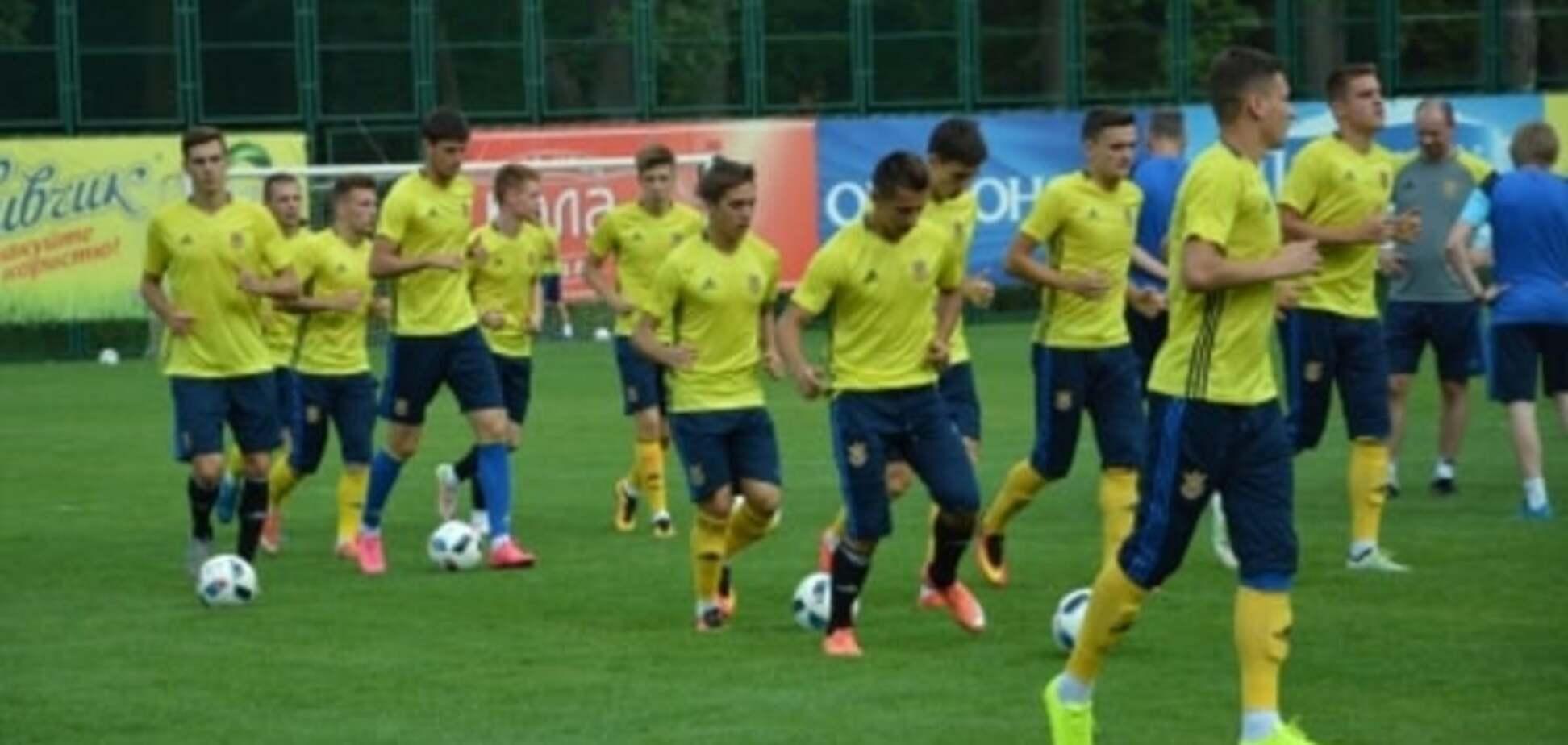 Украина добыла крупную победу в отборе на молодежное Евро-2017