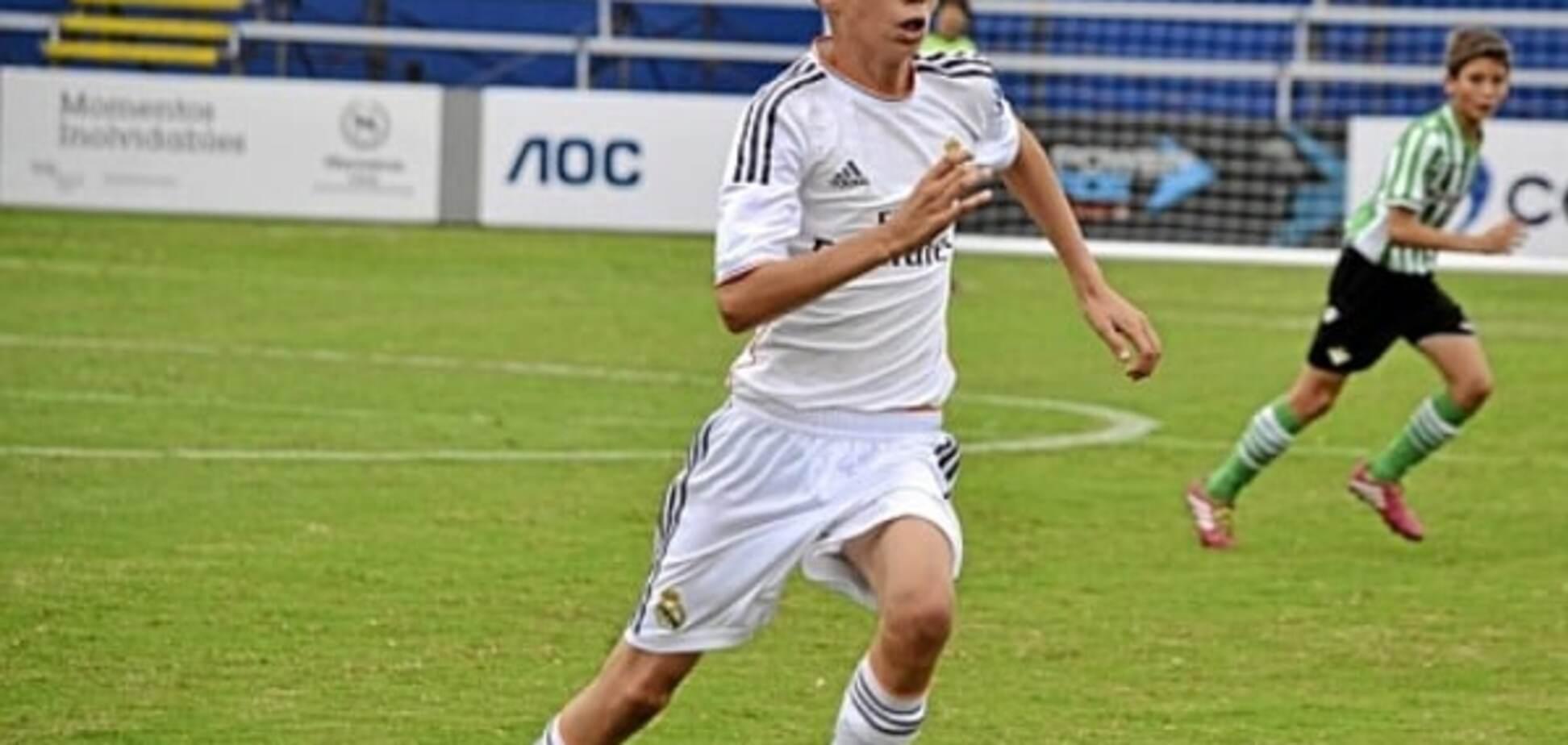 14-летний сын легендарного Зидана забил эффектный гол за 'Реал': видео шедевра