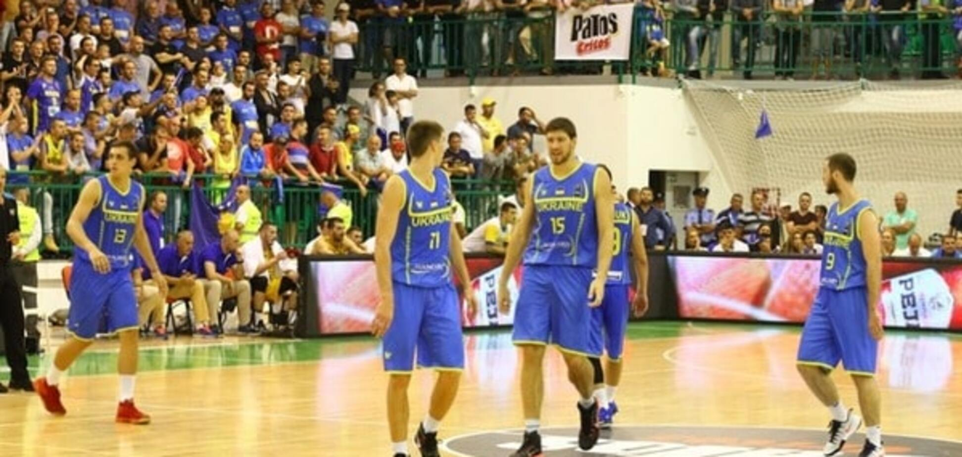 Україна програла Словенії у третьому турі відбору на Євробаскет-2017