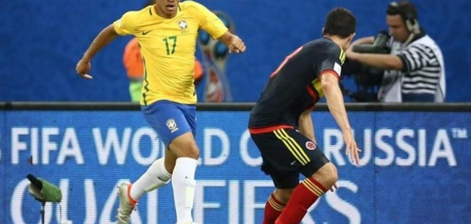Дебют удался: полузащитник 'Шахтера' помог Бразилии обыграть Колумбию - видео-обзор матча