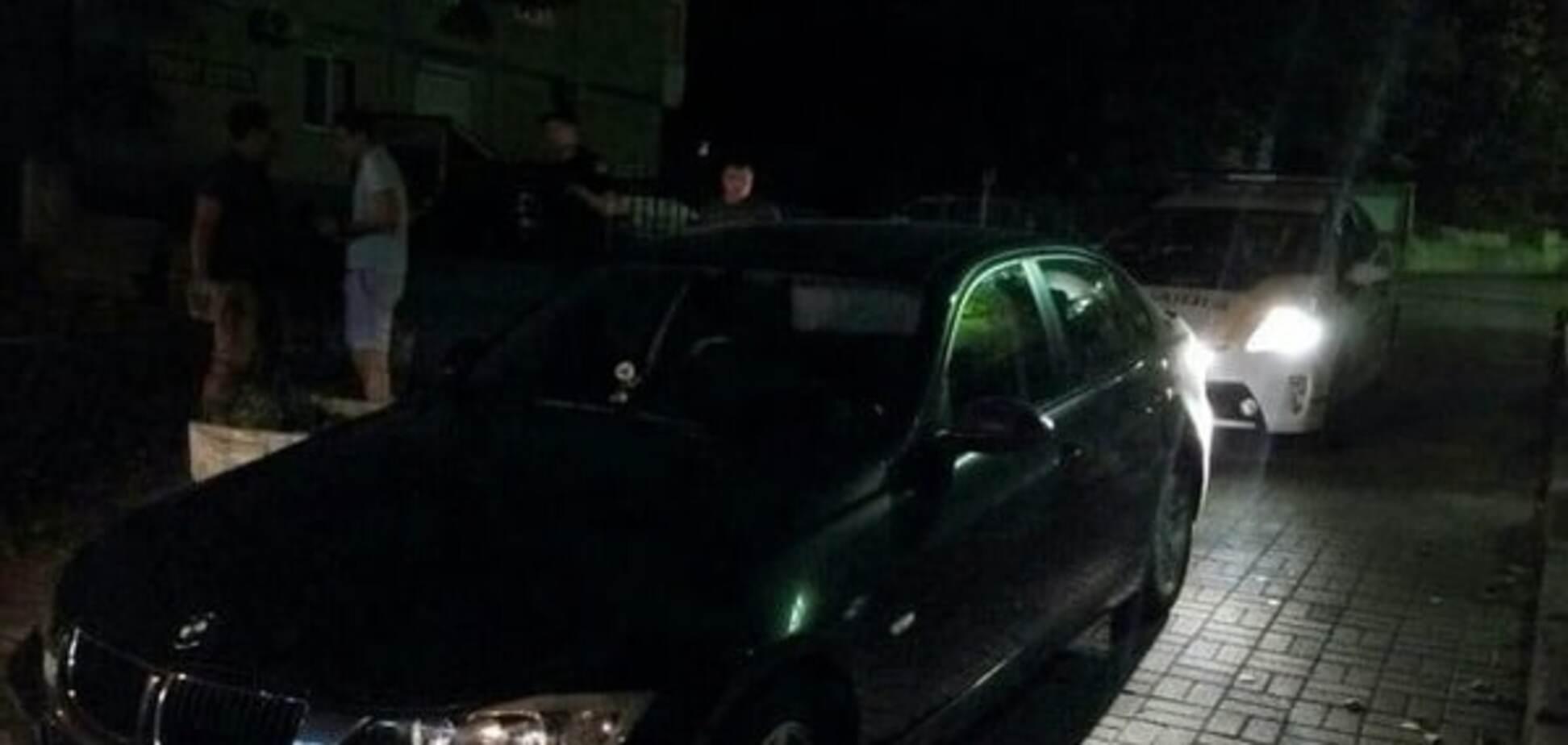 У Києві затримали п'яного хлопця на 'маминому BMW'