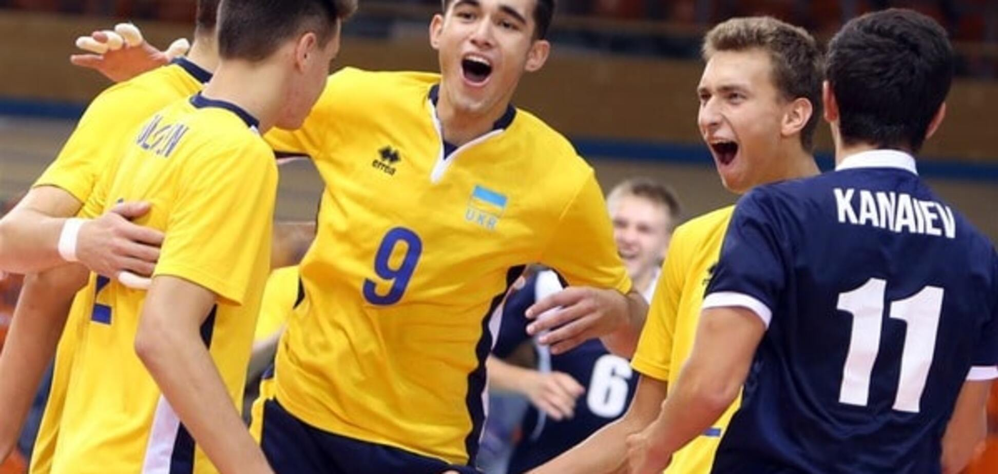 Україна красиво вийшла у півфінал чемпіонату Європи з волейболу