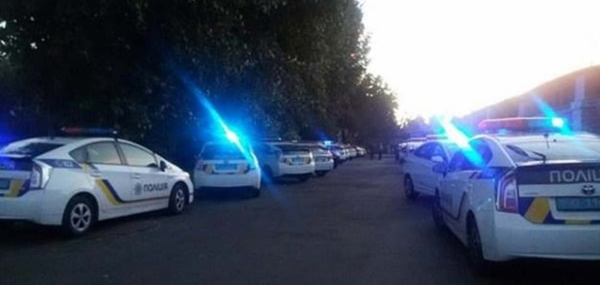 Столкновения на стройке в Киеве локализированы, есть задержанный - полиция