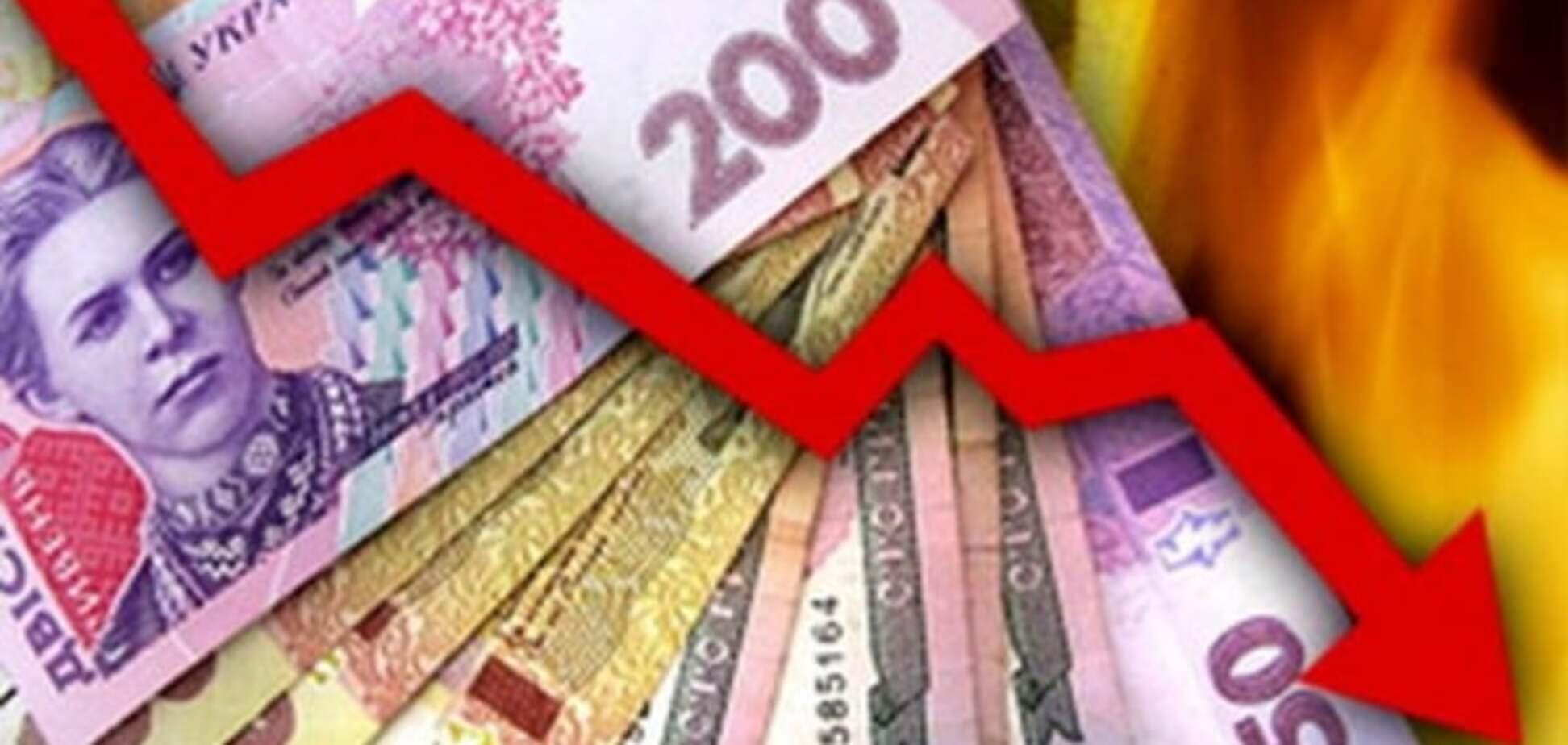 Падение гривни чревато сложностями с долгами Украины — Жолудь