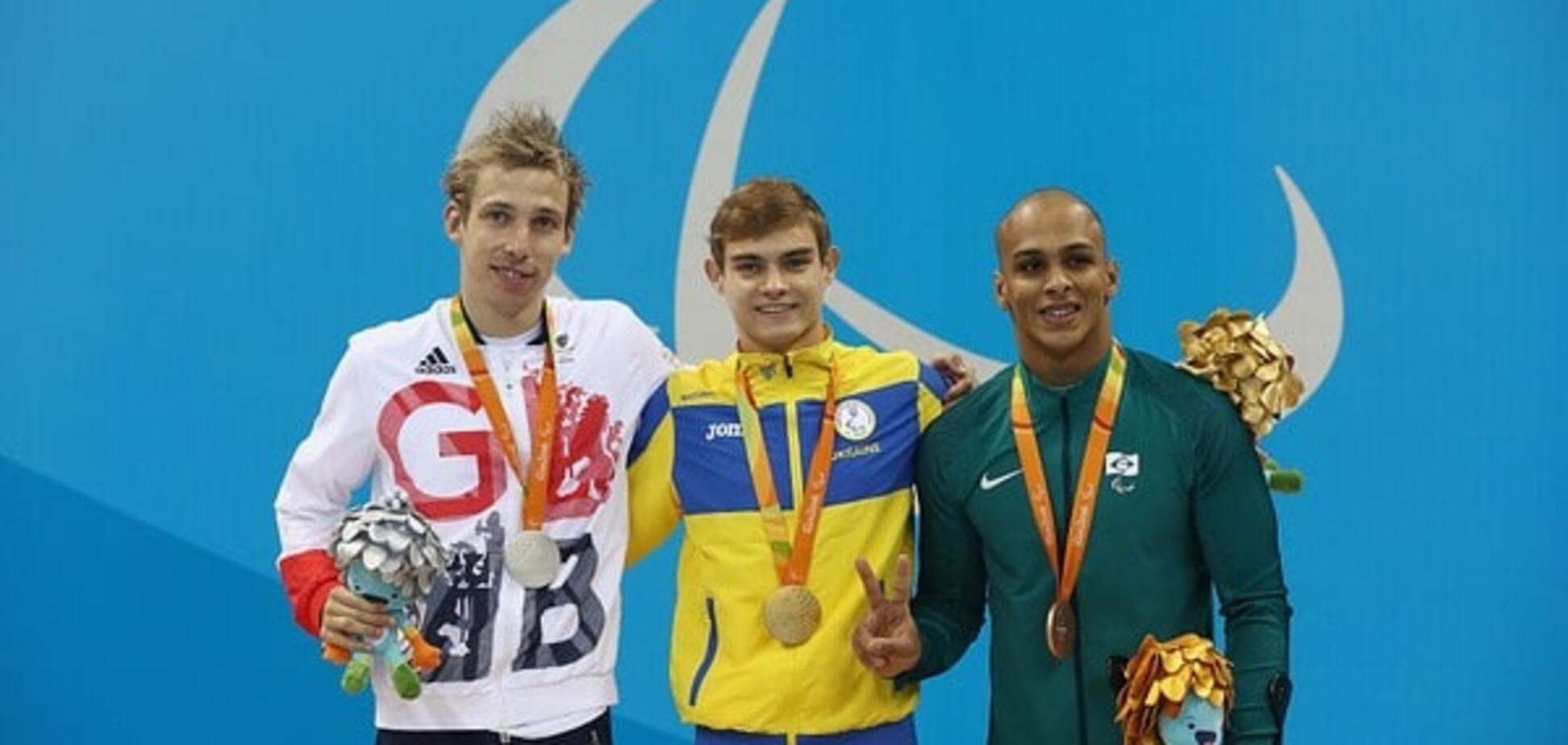 Україна виграла перше 'золото' на Паралімпіаді-2016