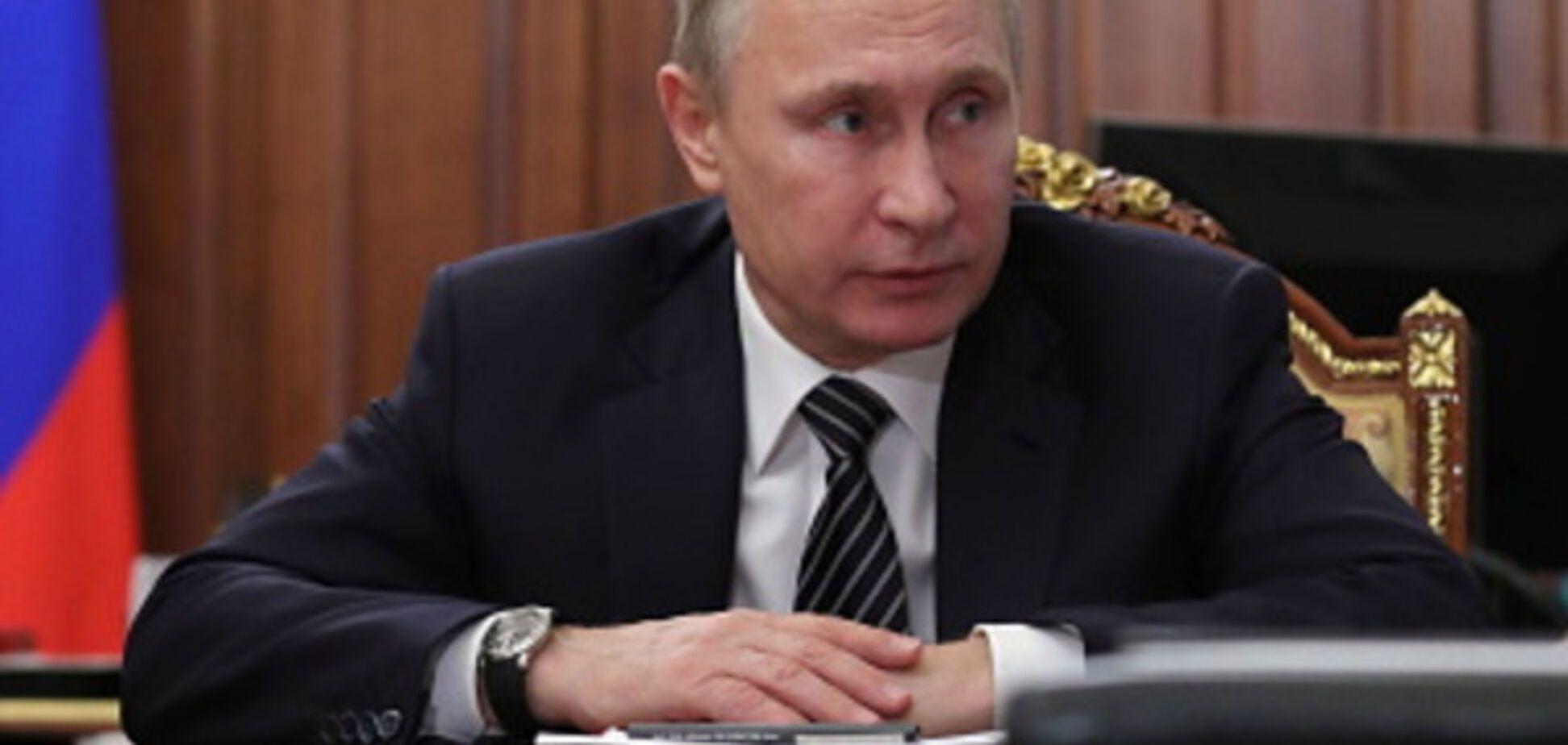 Путин таки доигрался!