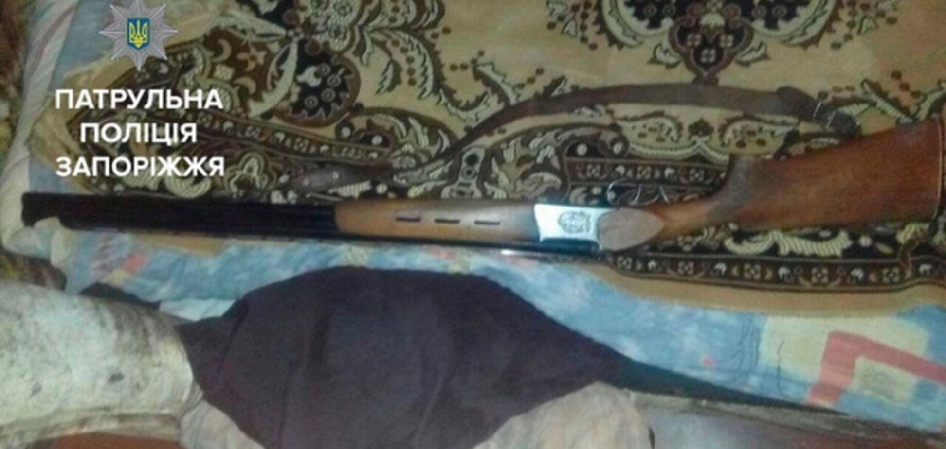 В Запорожье тесть застрелил зятя из ружья