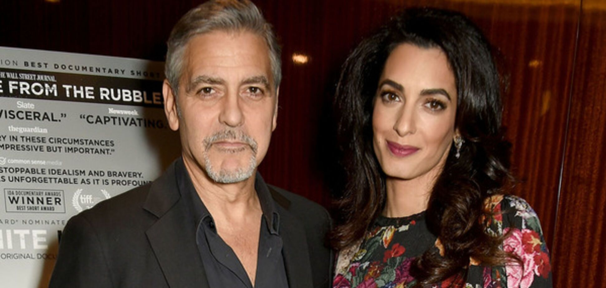 Развод отменяется: Амаль Клуни показала округлившийся животик