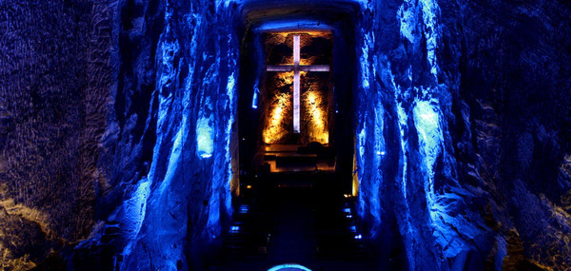 Соляной собор Сипакира в Колумбии