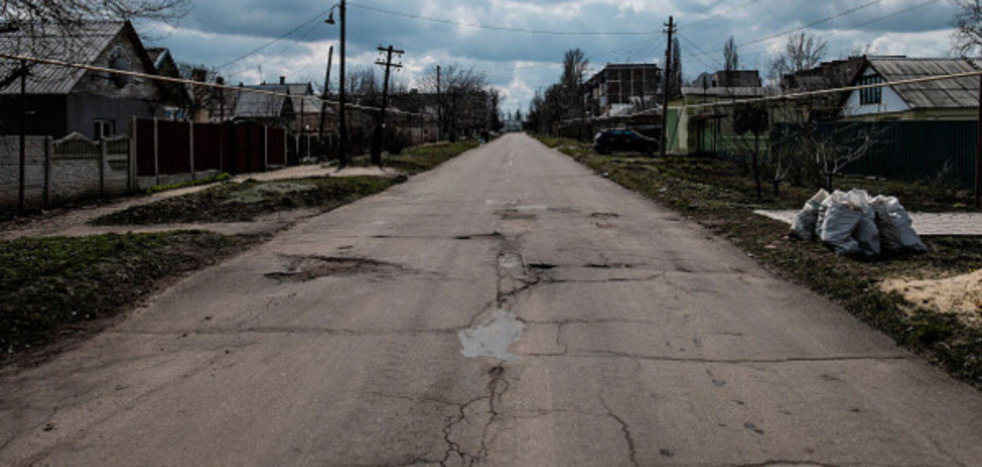 Война на Донбассе (Красногоровка)
