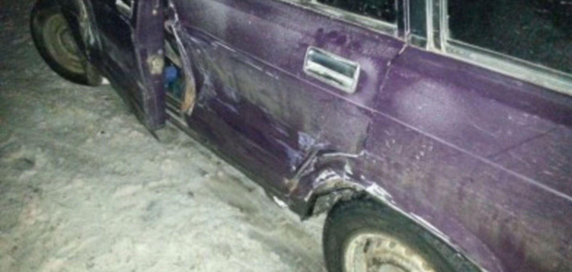 В Запорожской области возле газовой заправки произошла авария