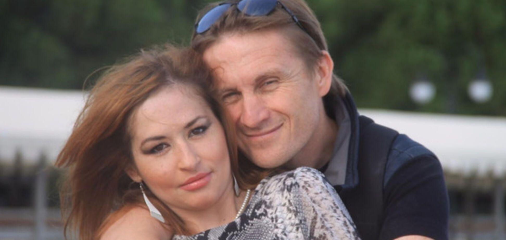 Ольга Сворак с террористом ЛНР