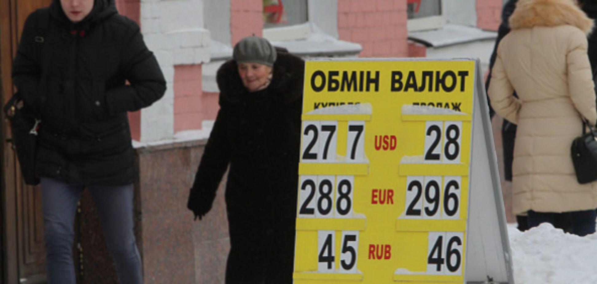 Курс гривни доллар