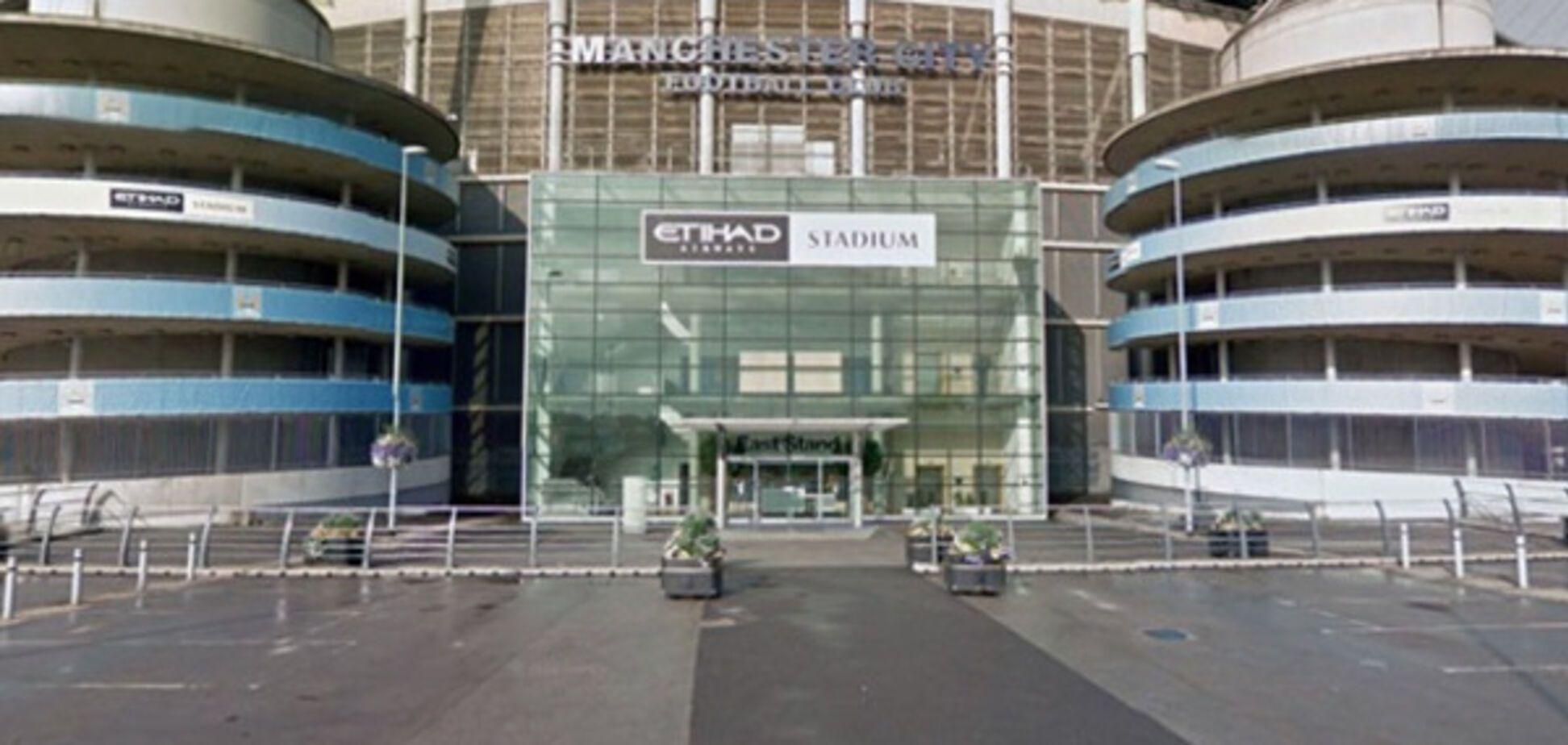 Парковка у стадиона в Манчестере
